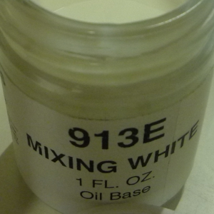 913E-FL Mixing White Over-glaze with oil base